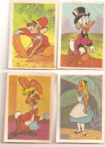 Figurinhas Galeria Disney - Anos 80 - Album Capa Vermelha