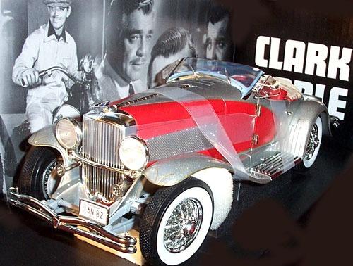 Mini Duesenberg Conversível 1935 Clark Gable 1:18 Ertl Raro