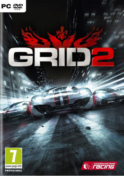 Jogo Da Codemasters Racing Grid 2 De Corrida Para Pc