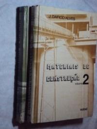 Materiais De Construção 2 Volumes ( Sebo Amigo )