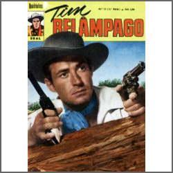 Tim Relâmpago Nº 12: O Enigma De Rio Hondo - Ebal - 1972