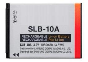 Bateria Slb-10a Samsung Es55 Es60 L100 L210 L200 Nv9 M100