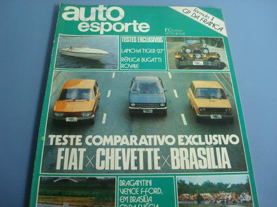 Antiga Revista Auto Esporte Nº 153 Julho 1977