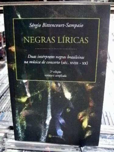 Negras Liricas Diuas Interpretes Musica Concerto Livro