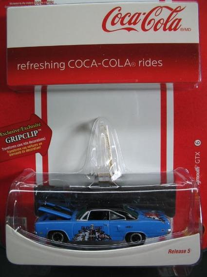 1:64 Jl Coca-cola R5 1970 Plymouth Gtx 53302d 50994
