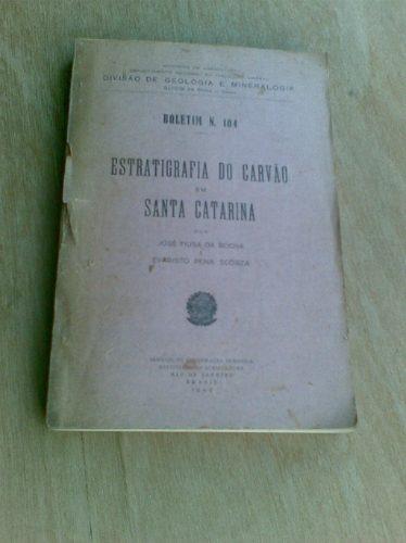 Livro - 1940 - Estratigrafia Do Carvão Em Santa Catarina