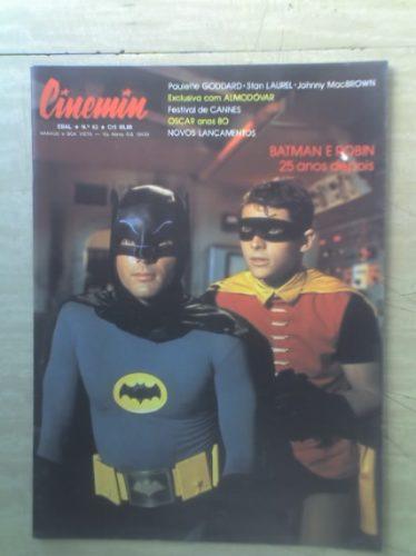 Cinemin - Nº 63 - Ed. Ebal - Batman E Robin 25 Anos Depois