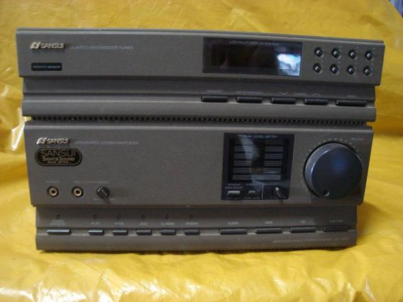 Mini Component Sansui -ta-3.000 Só Parte Amplif + Tuner -