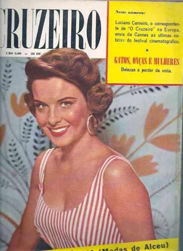 O Cruzeiro Bandeirantes Miss Distrito Federal - Cannes 1955
