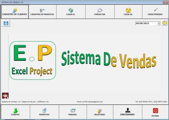 Sistemas De Venda Versão 1.0