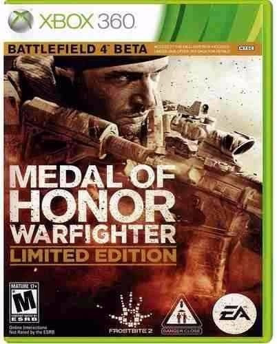 Medal Of Honor Warfighter Xbox 360 - Frete 10,00