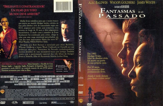 Dvd Fantasmas Do Passado Com Alec Baldwin E James Woods | Mercado Livre