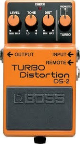 Pedal Boss Turbo Distortion Ds2 + Fonte Hayonik Promoção