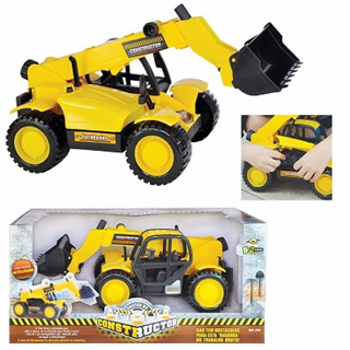 Trator Constructor Bs Toys 376 Mini Trator