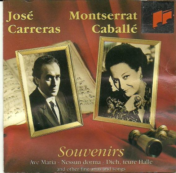 Montserrat Cabalé & José Carreras Souvenirs