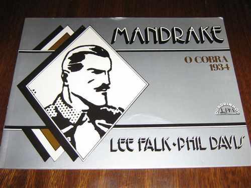 Mandrake O Cobra 1934 Lpm Quadrinhos Album Volume 1