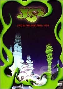 Dvd - Yes - Live In Philadelphia 1979.