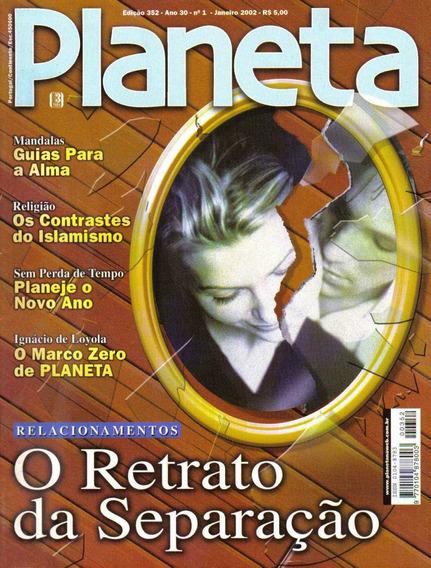 Revista Planeta Nº352 - Janeiro/02 (esoterismo, Ocultismo)
