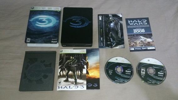 Halo 3 Edição Colecionador Americano Aceito Mp