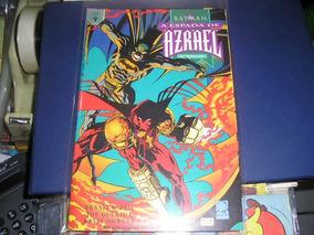 Batman A Espada De Azrael Mini-serie Em 2 Vols - Ed Abril
