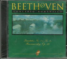 Beethoven Concerto Romântico Quartetos N° 1 E 2 Cd Lacrado