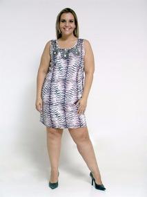 Vestido Tigre - Plus Size