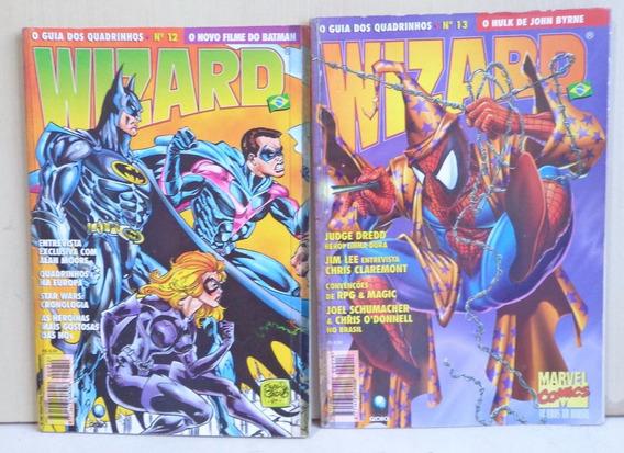 Wizard Brasil N 12 E 13 Ed Globo