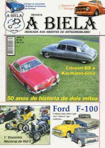 A Biela Nº35 Citroen Ds Karmann Ghia Ford F100 Pick-up Museu