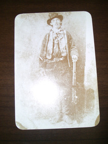 Cartão Postal Billy The Kid Old West Collectors Series