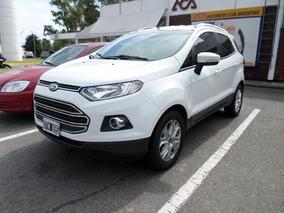 Ford Ecosport Titanium 1.6 2015 Blanco 1ra Mano 40 Mil Km