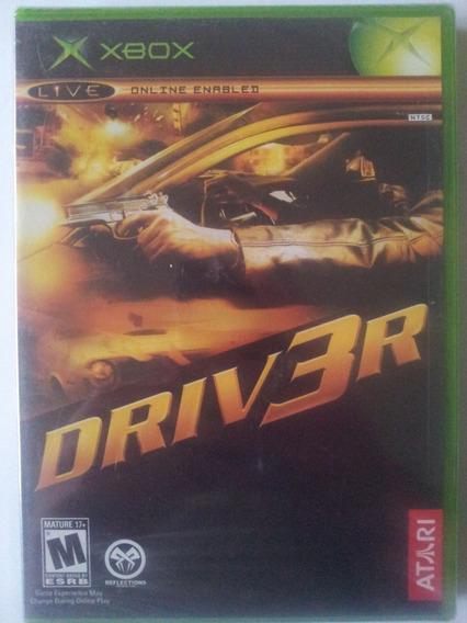 Jogo Driver 3 Lacrado Raridade Unico