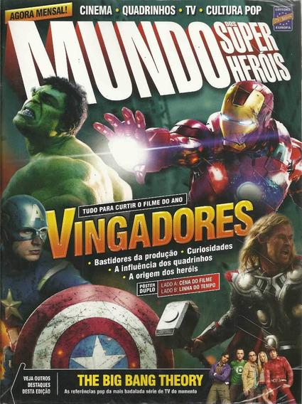 Mundo Dos Super-herois 33 - Europa - Bonellihq Cx109 I19