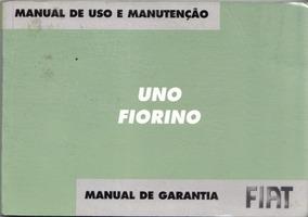 Manual Proprietário Fiat Uno Ou Fiorino 2006 Kit Completo