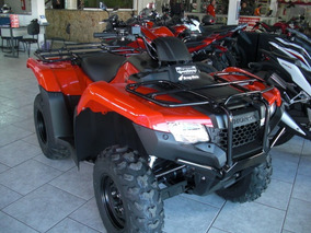 Honda Quadriciclo Trx 420 Fm 4x4 Fourtrax Zero A Fat 2017