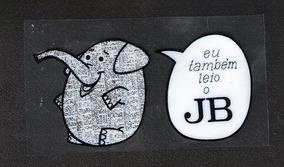Jornal Do Brasil-eu Também Leio - Adesivo Plastico