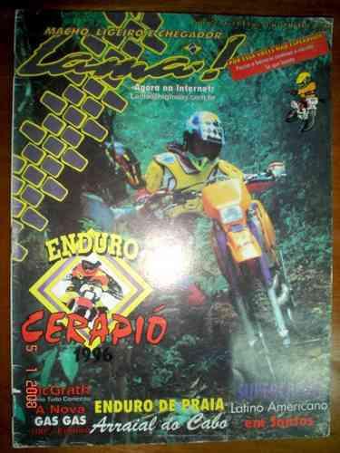 Revista Lama Moto Motocross Enduro Trilha Trail Cerapió