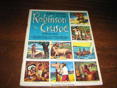 Album De Figurinhas Robinson Crusoé Ebal 1965 Completo