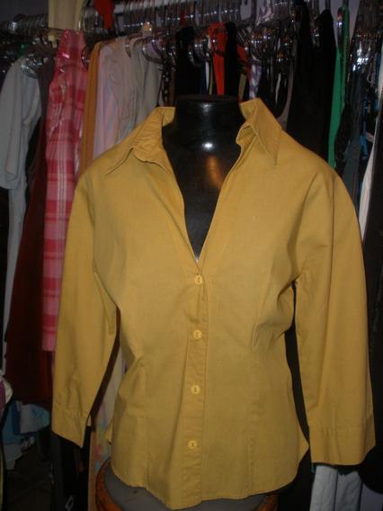 Blusa / Camisa Em Algodão