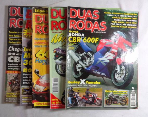 Revista Duas Rodas Lote Com 5 Unidades