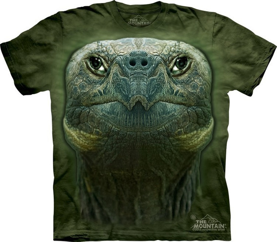 Playera 4d - Unisex -- 3527 Turtle Head.