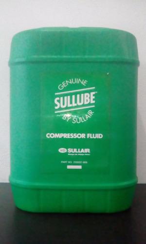 Aceite Sullube 32 Original Para Compresores Sullair