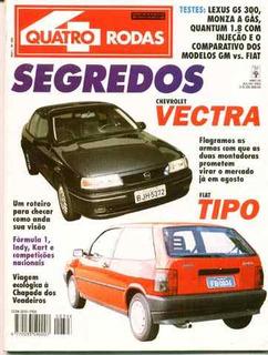4rodas N.396 Jul 93 Lexus Gs 300 Monza A Gas, Quantum 1.8i..