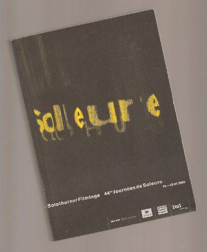 Livro 44th Solothurn Film Festival (cinema)