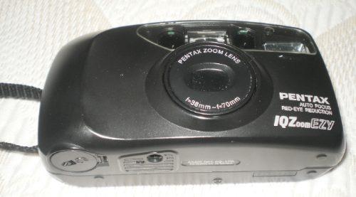 Camera Maquina Fotografica Pentax Iqzoom Ezy - No Estado