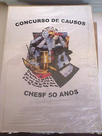Livro Concursos De Causos Chesf 50 Anos Cia. Hidro Elétrica