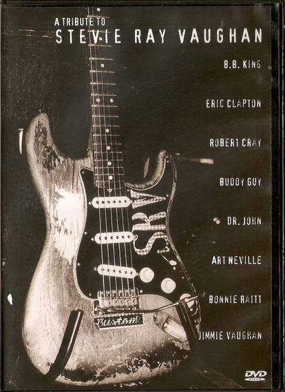 Dvd Stevie Ray Vaughan - Atributeto - Novo***