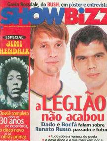 Revista Showbizz Nº7 - Legião Dado/bonfá