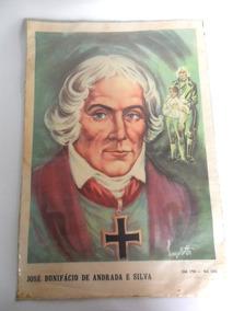 Gravura Antiga Retratando José Bonifácio Lanzellotti Coleção