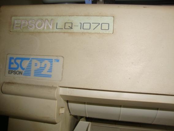 Impressora Epson Agulha Lq 1070 132 Colunas