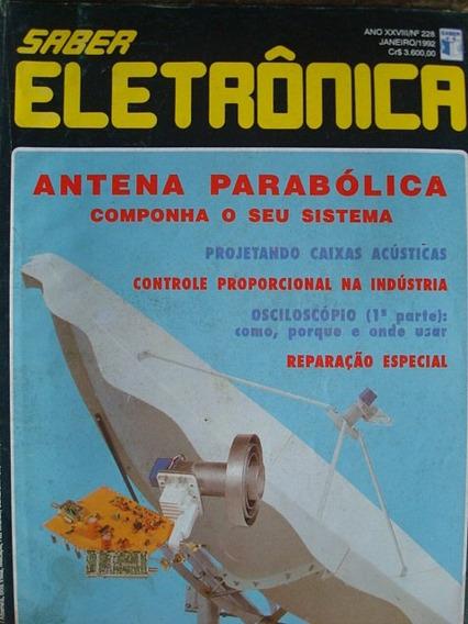Revista Saber Eletrônica 228 Janeiro De 1992